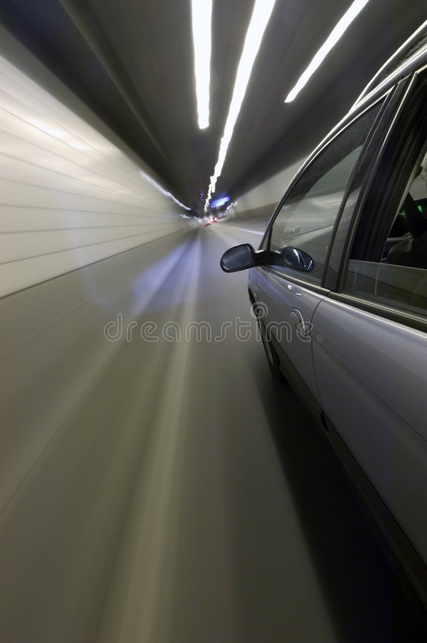 Tunnel-Anblick