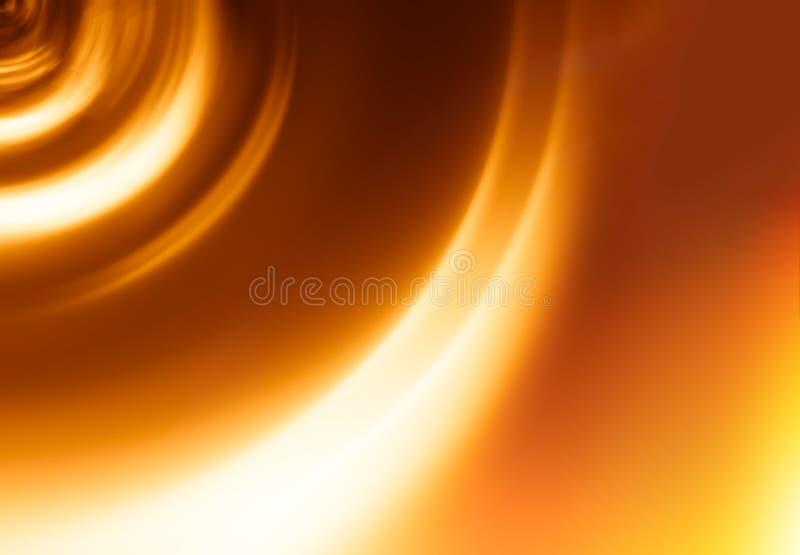 Tunnel-Bewegungsunschärfehintergrund des Sonnenuntergangs orange lizenzfreie stockbilder