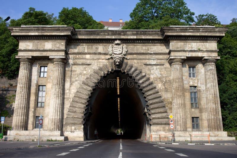 Tunnel de Buda à Budapest photos stock
