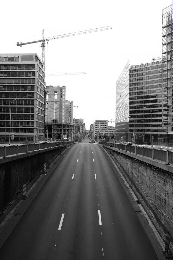 Tunnel de circulation photo libre de droits