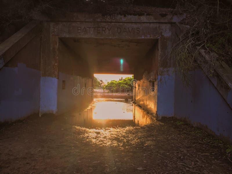 Tunnel de mystère images libres de droits