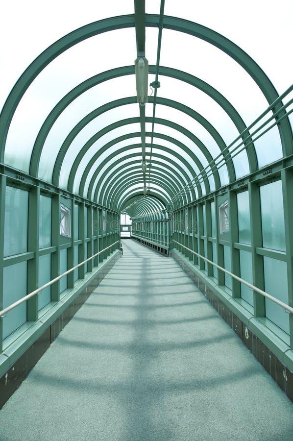 Tunnel de passage couvert image libre de droits