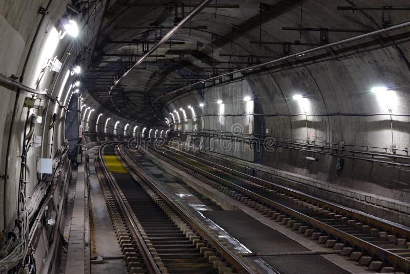 Tunnel de souterrain photos stock