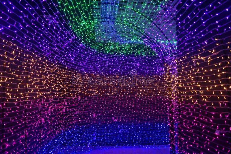 Tunnel de temps, dans l'illusion Art Museum image libre de droits