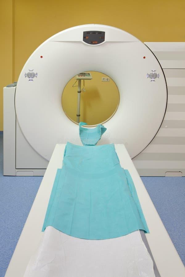 Tunnel de Tomograph image stock