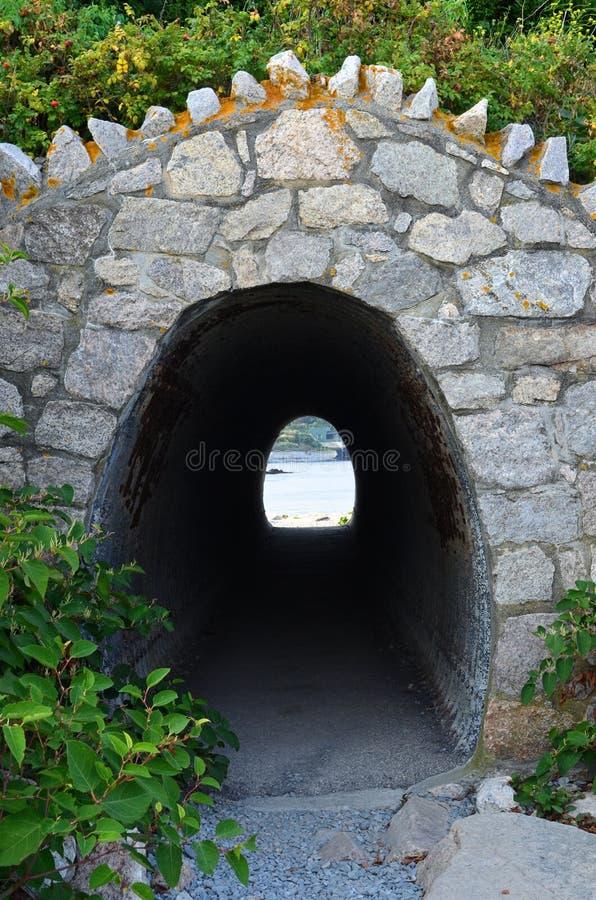 Tunnel de traînée image libre de droits