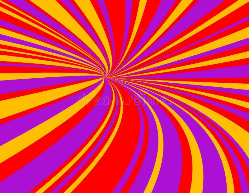 Tunnel de vitesse illustration libre de droits