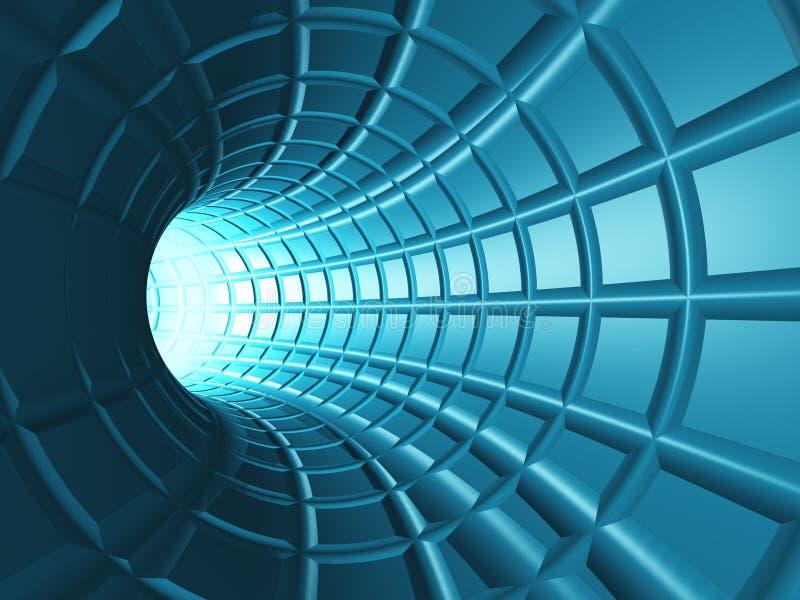 Tunnel de Web illustration libre de droits