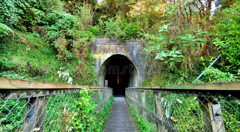 Tunnel Entrance stock photography