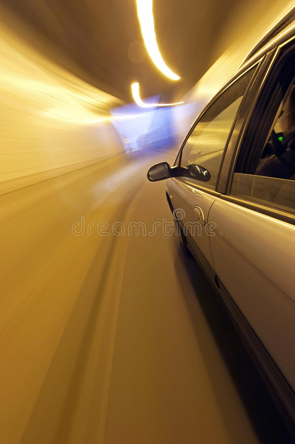 Download Tunnel Exit stock image. Image of metal, driving, outside - 10829903
