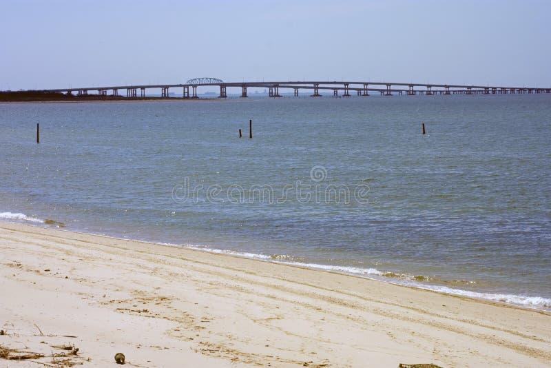 Tunnel -01 för bro för Chesapeakefjärd royaltyfri bild