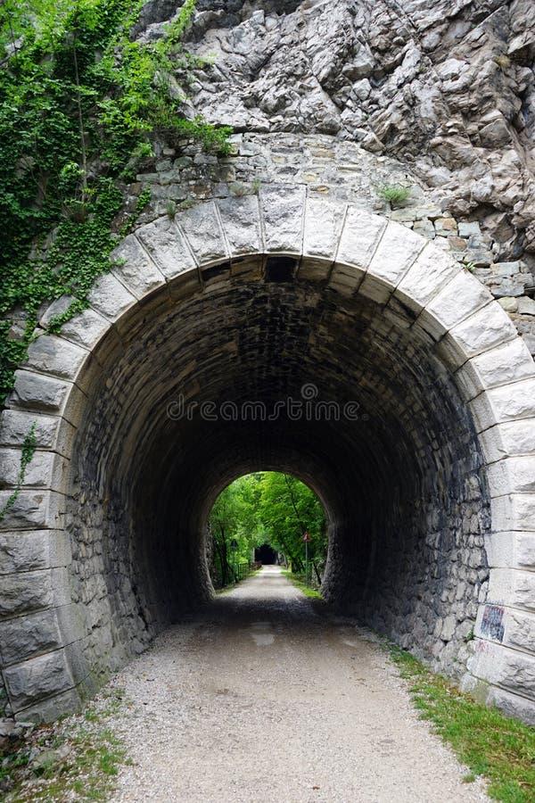 Download Tunnel i vagga fotografering för bildbyråer. Bild av green - 78726709