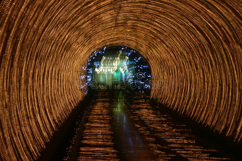 Download Tunnel lights stock image. Image of tunnel, train, underground - 153505
