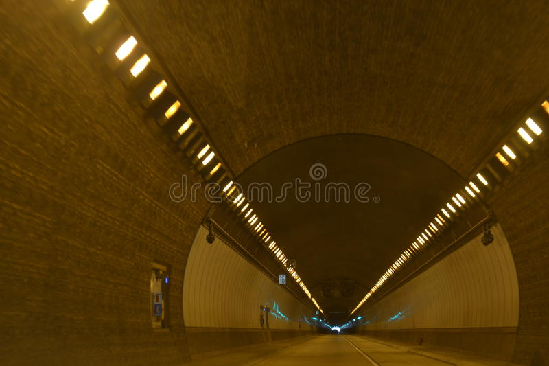 Through The Tunnel royalty free stock image