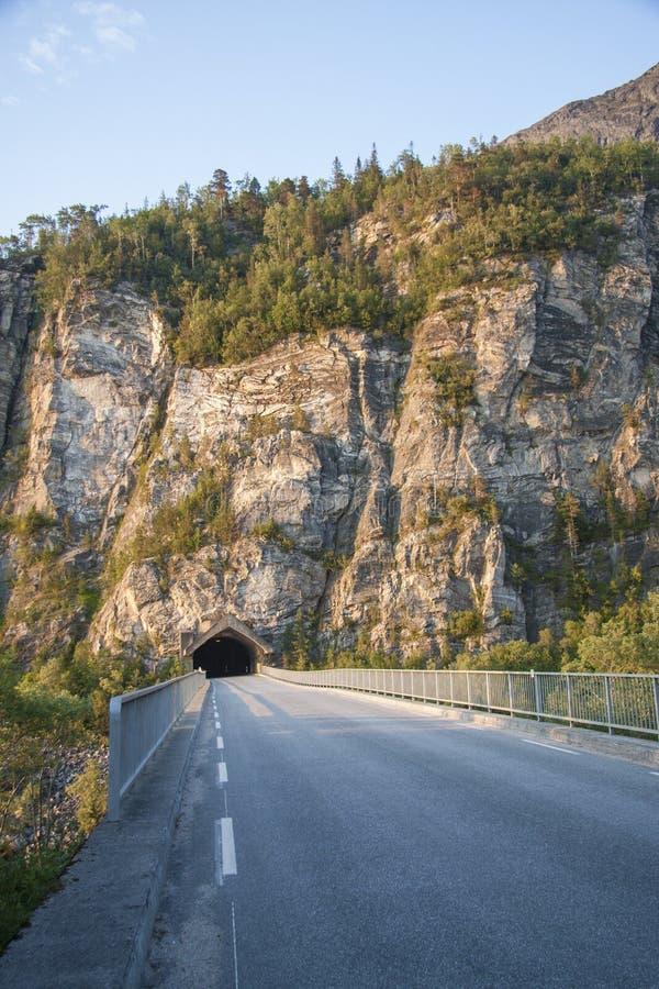 Tunnel Nord-Norwegen lizenzfreie stockbilder