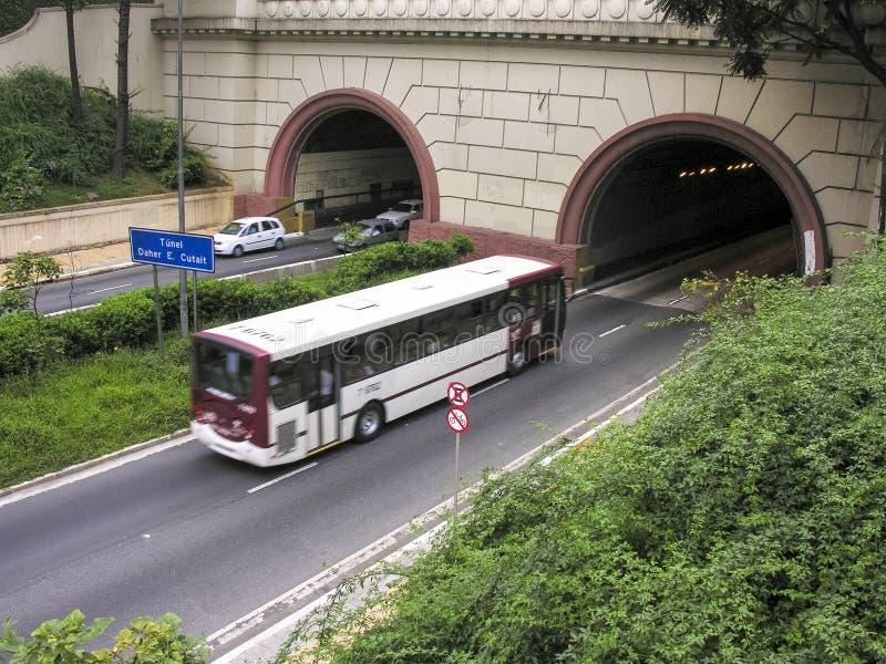 Tunnel Nove de Julho immagine stock libera da diritti