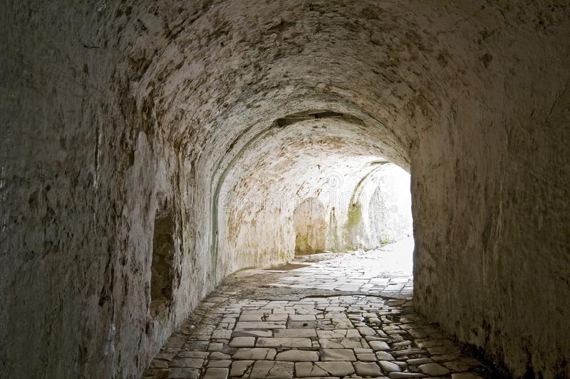 Tunnel passage royalty free stock photos