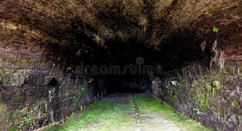 Tunnel in Portobelo Panama stock fotografie