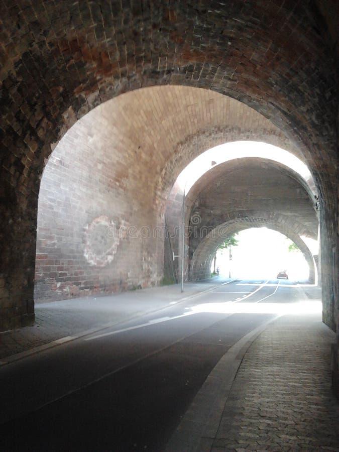 Tunnel in Saarbruecken royalty-vrije stock afbeeldingen