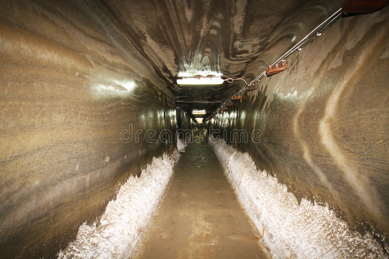 Download Tunnel in salt mine stock image. Image of people, interesting - 21291405
