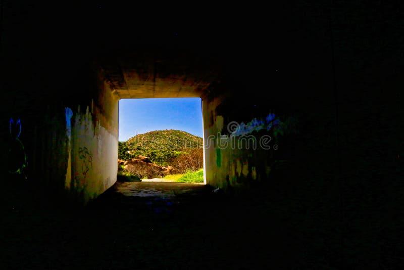 Tunnel Simi Valley California royaltyfria foton