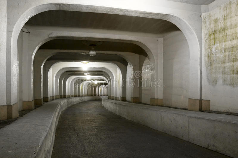 Tunnel, South Korea royalty free stock images