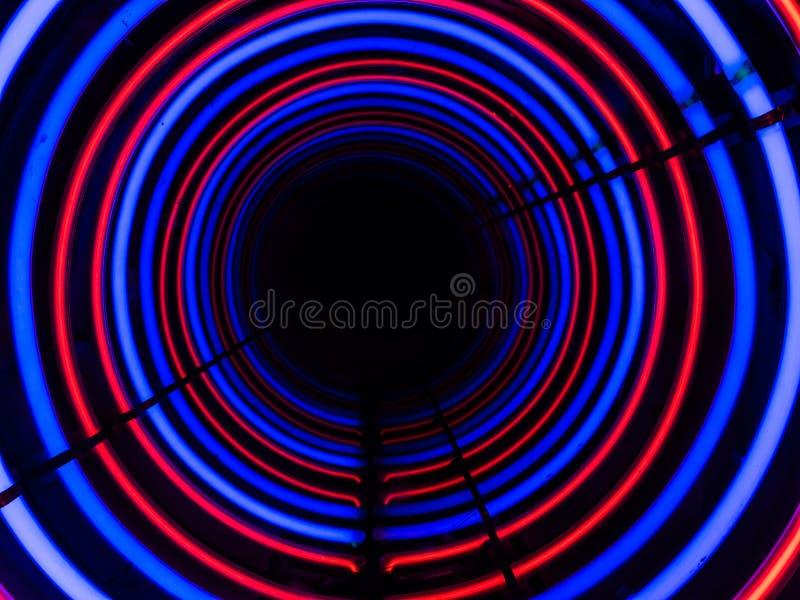 Tunnel till oändligheten royaltyfri bild