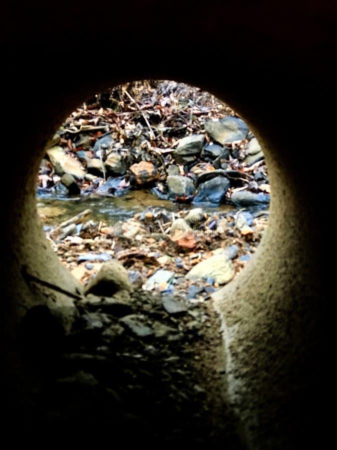 tunnel royaltyfri foto