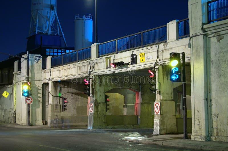 Tunnel van de dood, Montreal, Canada (1) royalty-vrije stock afbeeldingen