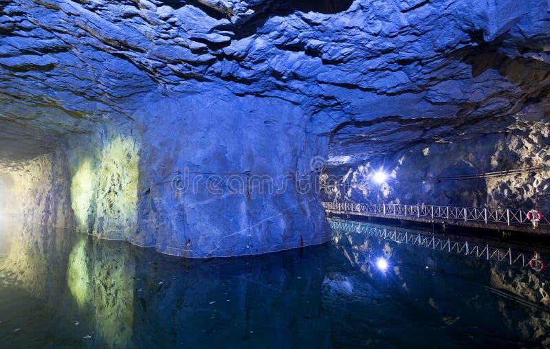 Tunnel van het Parkzhaishan van Taiwan Kinmen de Nationale royalty-vrije stock afbeelding