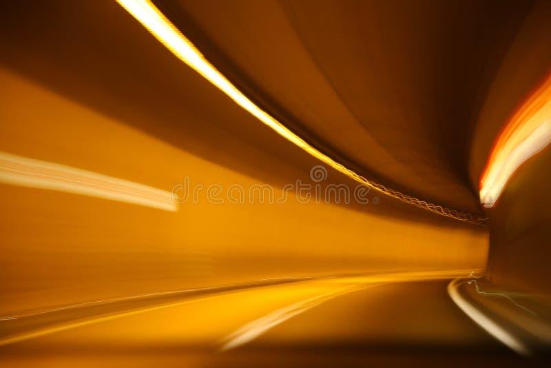 Tunnel van snelheid stock fotografie
