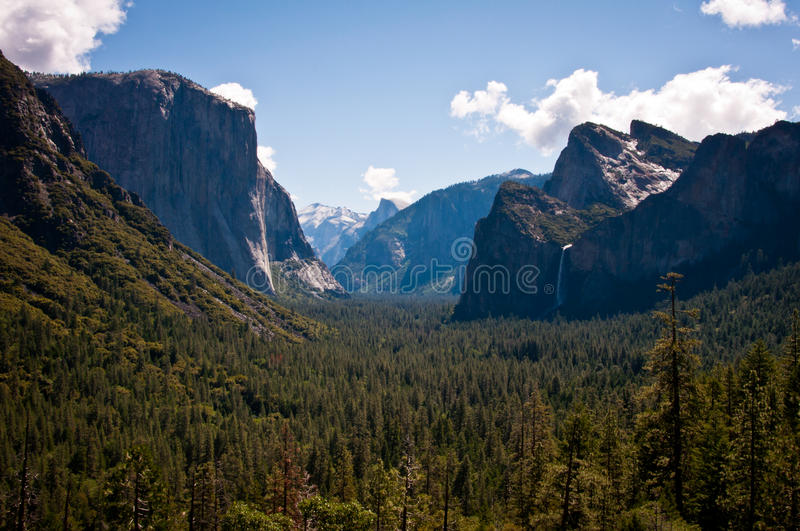 Tunnel View Stock Photos