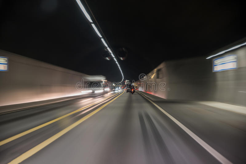 Tunnel vision stock photos