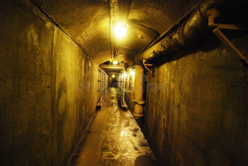 tunnelbana för casaloma-tunnel fotografering för bildbyråer
