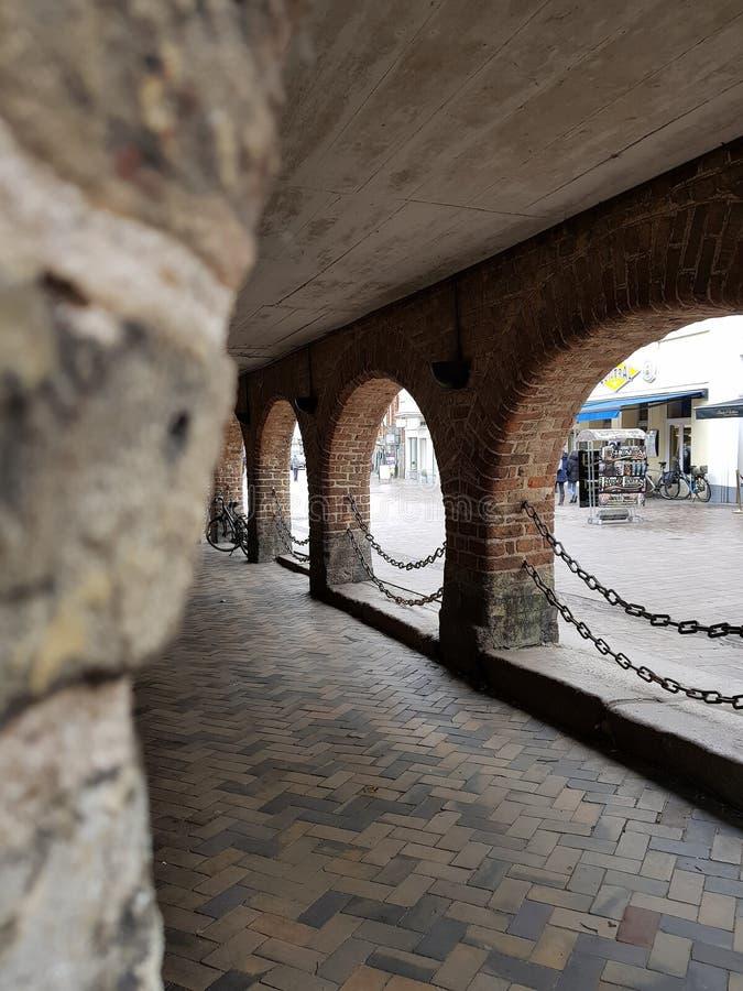 Tunnelen beskådar royaltyfria foton