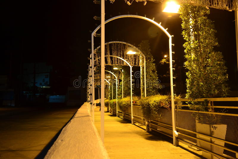 Tunnellicht royalty-vrije stock fotografie
