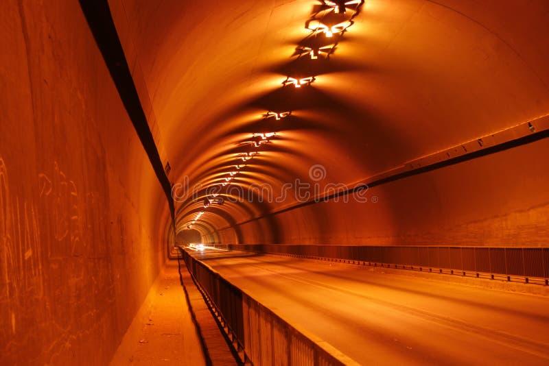 Tunnels royalty-vrije stock fotografie