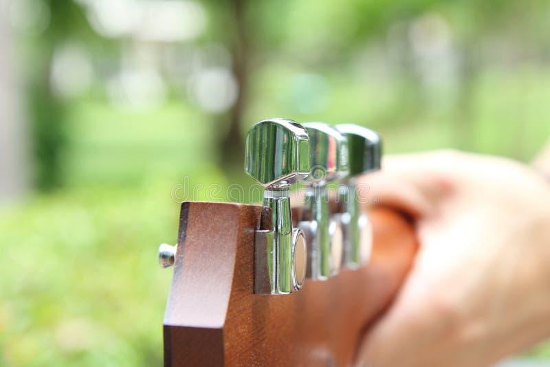Tunner da guitarra imagem de stock royalty free