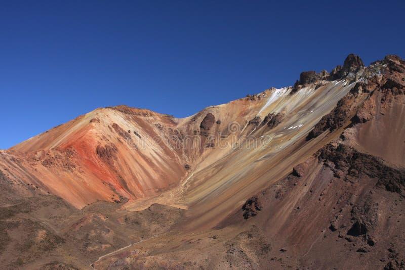 Tunupa Vulkan stockfoto