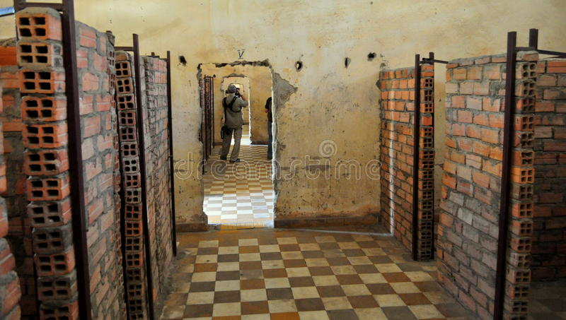 Download Tuol Sleng Genocide Museum, Phnom Penh, Cambodia. Editorial Image - Image of historical, past: 28410990