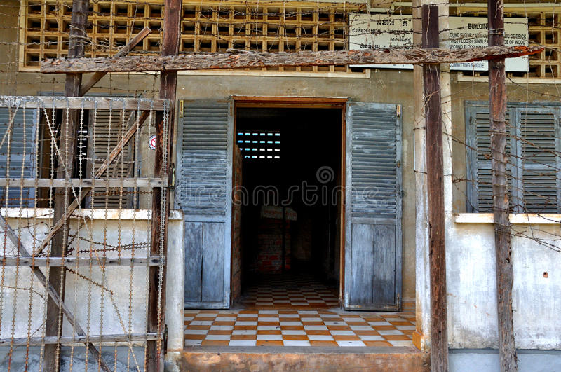 Download Tuol Sleng Genocide Museum,Phnom Penh, Cambodia Editorial Stock Image - Image: 28707894