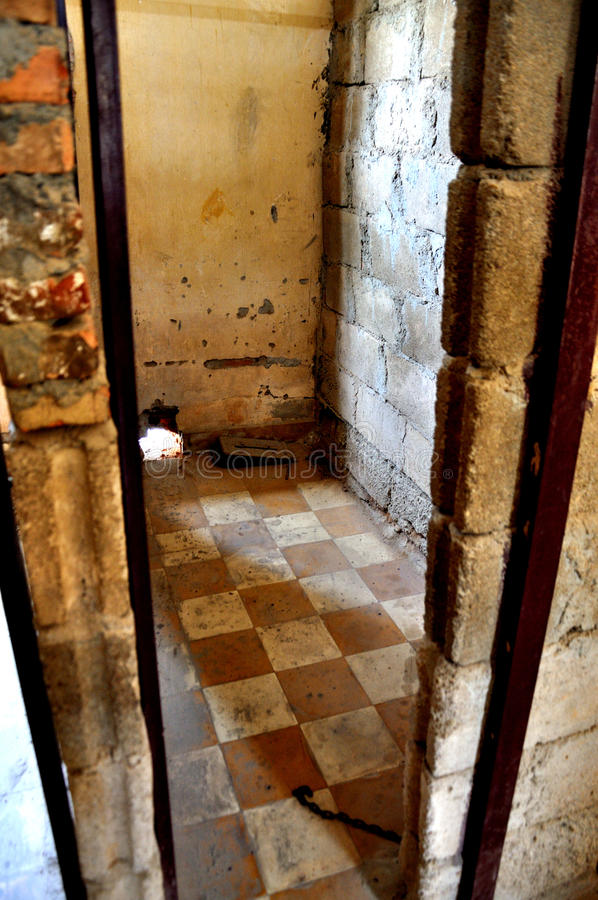 Tuol Sleng Genocide Museum,Phnom Penh, Cambodia Editorial Photo