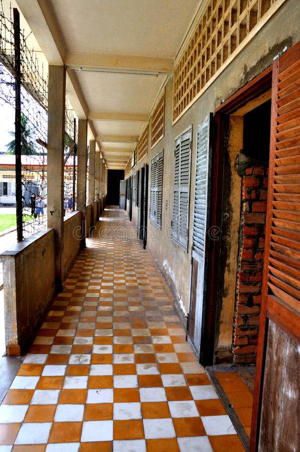 Download Tuol Sleng Genocide Museum,Phnom Penh, Cambodia Editorial Image - Image of destination, killing: 28708560