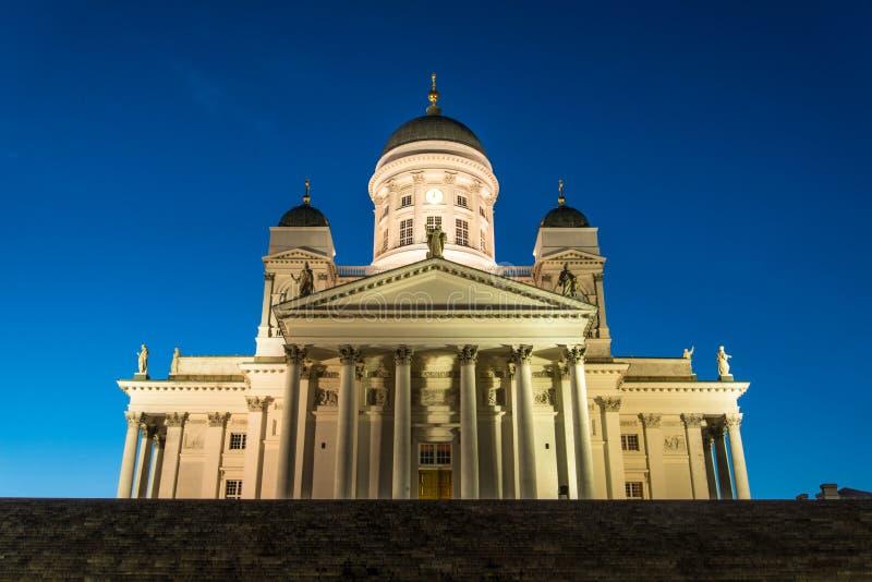 Tuomiokirkko,赫尔辛基 免版税库存照片