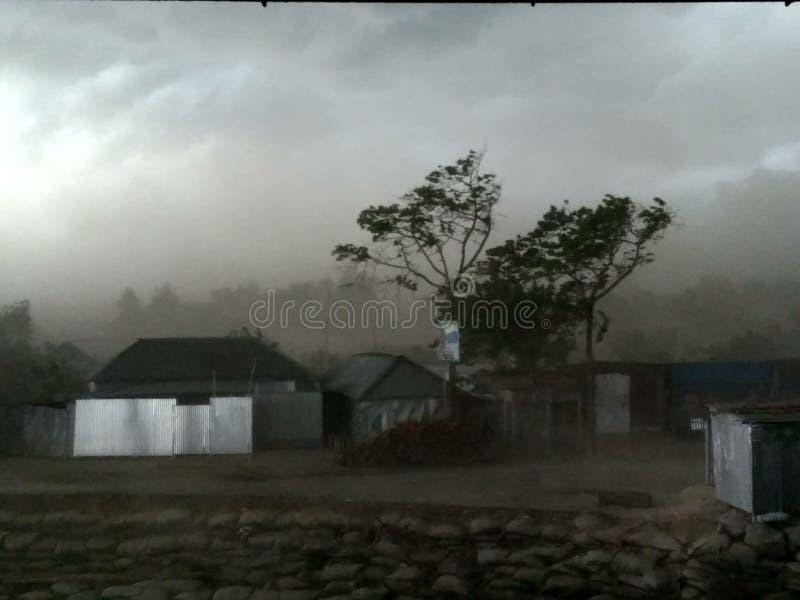Tuono Strom in Baishak fotografie stock libere da diritti