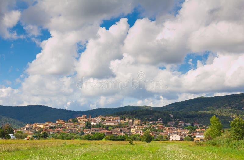 Tuoro by i Umbria royaltyfri fotografi