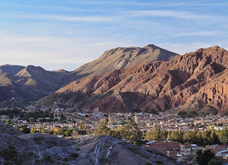 Tupiza em Bolívia foto de stock royalty free