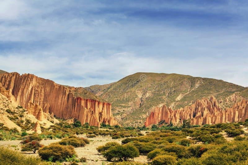Tupiza en Bolivia fotografía de archivo libre de regalías
