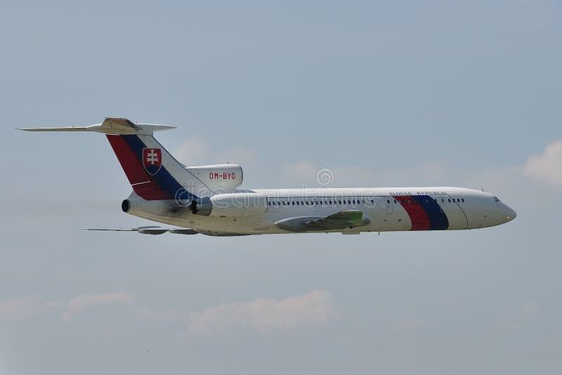 Tupolev TU-154M image libre de droits