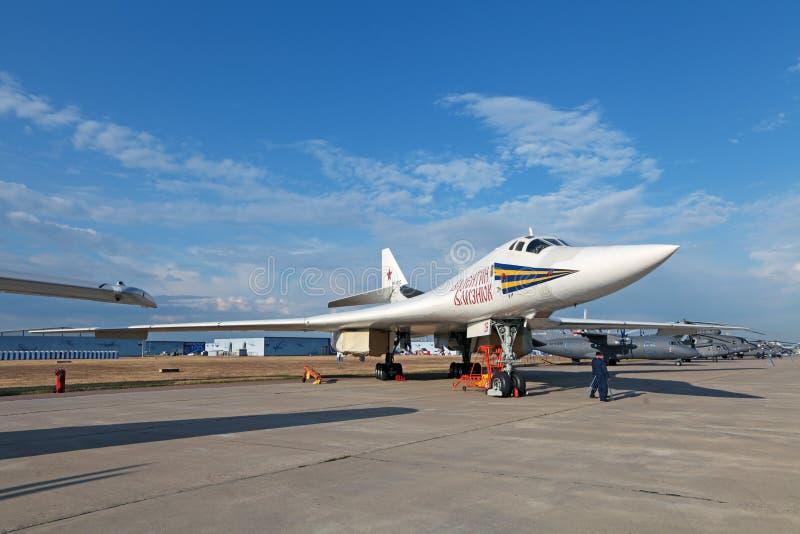 Tupolev Tu-160 (reportażu NATO-WSKI imię: Blackjack) zdjęcie royalty free